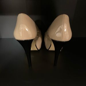 Chinese Laundry Shoes - Chinese Laundry Triple Major Nude Patent peep toe